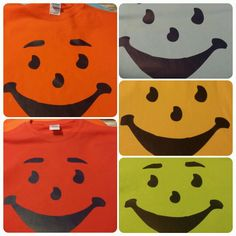 Kool Aid flavor tees for