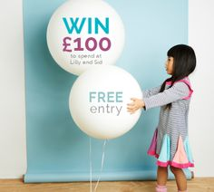 Win £100 to Spend on Baby Clothing at Lilly+Sid #Lilly+Sid