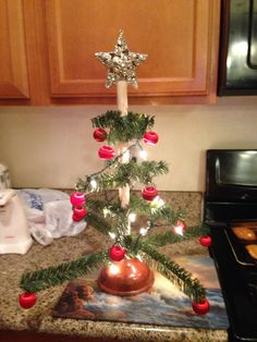 Redneck plunger Christmas tree! For that special hillbilly or a good white elephant gift. $5 to make from materials at the $ store.