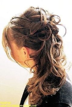 Bride Hairstyles 2012 half up half down