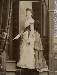 Miss Emily Notman, Montreal, QC, 1889