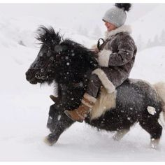 Our little boy has a pony just like this one! Will this be him one day? ;)