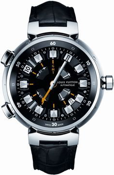 Louis Vuitton Tambour Spin Time Watch ~NG