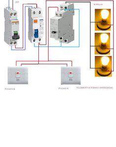 Esquemas eléctricos: telerruptor