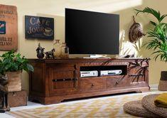 CAMBRIDGE TV stolík 200x55 cm, akácia Tv Board, Web Design, Oxford, Cambridge, Flat Screen, Cabinet, Storage, Furniture, Home Decor