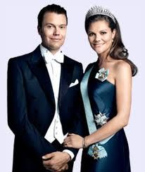 Prince Daniel and Princess Victoria of Russia