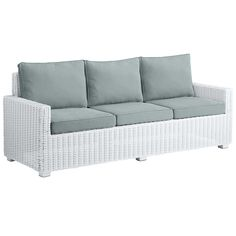 Pier1 Echo Beach Outdoor sofa $450 clearance + 288 in cushions