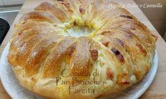 Il Pan Brioche Salato è un rustico saporito e sofficissimo!!!! Si prepara velocemente, anche se deve avere il tempo x la lievitazione, ma ne vale la pena!!!