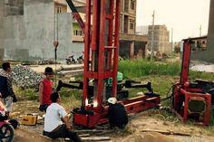 Dịch vụ ép cọc bê tông nhà dân tại Huyện Hoài Đức Hà Nội uy tín số 1 trên thì trường