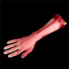 Simulation Hand Mischief Props Horror Zombies Broken Hand Funny Scary Bloody Fake Hand Novelty Products Gadgets Hot Sale Funny