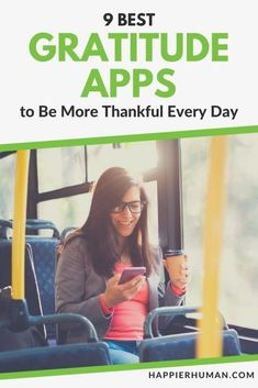 In this modern, technological era, these are the best gratitude apps that have emerged to help people learn how to be more grateful. Positive Psychology, Positive Mindset, Gratitude Journal App, Gratitude Ideas, Self Development, Personal Development, Life Satisfaction, Confidence Tips, Dating Coach