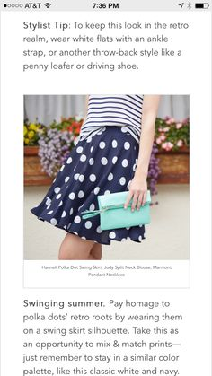 Cute skirt. Like this cut in a color other than navy or black