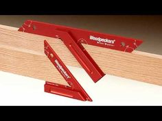 Woodpeckers Miter Master - YouTube