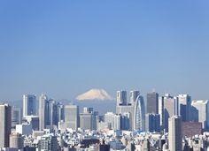 Tokio con el monte Fuji al fondo