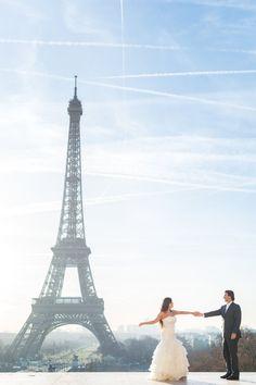 Aline & Ricardo spring Paris wedding -19