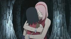 Sakura y Sarada Hinata, Sasuke Sakura Sarada, Boruto And Sarada, Naruto And Sasuke, Naruto Shippuden, Strong Couples, Star Stable, Naruto Girls, Drawing Base