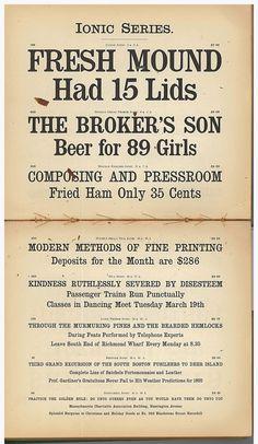 California Historical Society: Type Tuesday - Boston Type Foundry