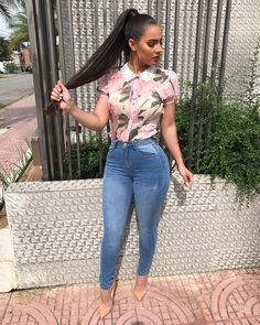 Algerian Sugar Lady Urgently Needs a Lover Trendy Outfits, Summer Outfits, Cute Outfits, Fashion Outfits, Womens Fashion, Casual Chic, Casual Wear, Tropical Outfit, Vetement Fashion
