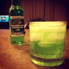 Original Cocktail: Yoshi  Get the recipe at shesallnerd.com