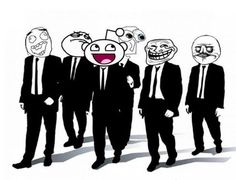 I never thought a trollface could actually be classy.