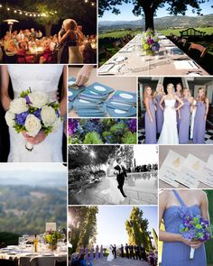 This lovely outdoor wedding took place in wine country- Napa Valley, CA. The late August weather created the perfect temperature for an outdoor wedding ceremony and reception. The couple had fun taking pictures throughout the vineyard and around the