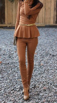I would look like a tall glass of chocolate milk but im diggin this!