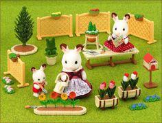 *Sylvanian Families: Family Garden Set