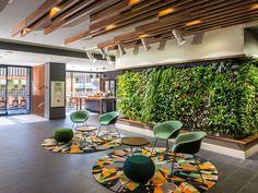 Corporate Interiors, Office Interiors, Modern Interiors, Modern Office Design, Office Interior Design, Commercial Design, Commercial Interiors, Green Office, Office Lounge