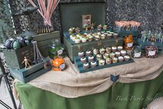 Treats at a Military Party #military #partytreats