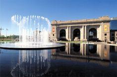 Union Station fountain, Kansas City, MO