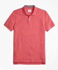 Solid Pique Polo ShirtRose