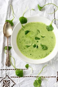 Mild Winter Purslane Soup