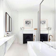 dustjacketattic: marble bathroom | smart design studio