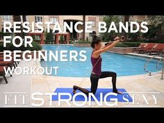 Total Body Resistance Band Workout for Beginners - YouTube