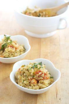 Caprese Brown Rice Recipe | Yummly