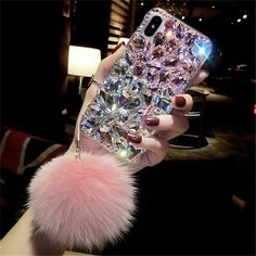 Iphone Cases Bling, Glitter Iphone 6 Case, Girly Phone Cases, Iphone Case Covers, Chanel Iphone 6 Case, Amazing Phone Cases, Sparkly Phone Cases, Iphone 10, Coque Iphone