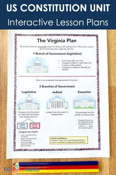 This 3 week US Constitution history unit is packed full of fun interactive lesson and activities! These lessons and projects are especially great for kids in grade, grade, grade, and grade. Save yourself a ton of prep time and check it out today! 7th Grade Social Studies, Social Studies Notebook, Social Studies Worksheets, Teaching Social Studies, Government Lessons, Teaching Government, Constitution For Kids, Indian Constitution, Science Education