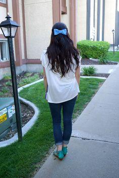 Life as a Waterleaf: DIY Hair Bow Tutorial