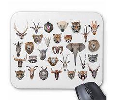 動物の顔のマウスパッド:フォトパッド( 世界の野生動物シリーズ ) 熱帯スタジオ http://www.amazon.co.jp/dp/B014NDOOBK/ref=cm_sw_r_pi_dp_.3odwb18NGEVX