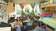 The 25 Most Beautiful Dorm Rooms on Pinterest - BachelorsDegreeOnline.com