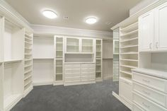 Walk In Closets | Custom | Classy Closets