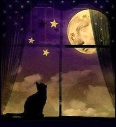 Here you will find clip art of Happy Halloween Signs, Spooky Halloween Signs, Masks, Halloween Balloons, A Casket and Graveyard and so much more.: A Kitty Waiting For Halloween