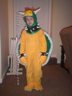 coolest diy bowser costume from super mario bros - Koopa Troopa Halloween Costume