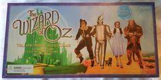 The Wizard of Oz Yellow Brick Road Board Game 2001 Sealed NIP Dorothy Toto  #Pressman #WizardOfOz