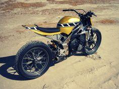 Dope #Yamaha #R1 #FlatTracker by Greggs Customs