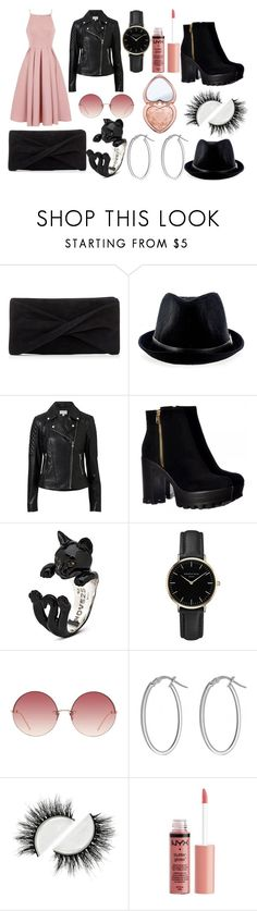 """Rock chic"" by isaline-de-soie on Polyvore featuring mode, Reiss, Chi Chi, Witchery, ROSEFIELD, Linda Farrow, IBB et Charlotte Russe"