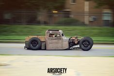 Rat rod motorcycles and cars