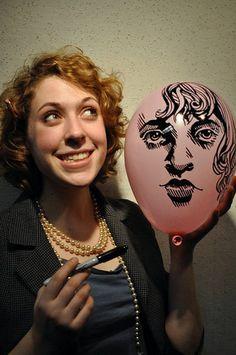 Skill >> Balloon portrait artist