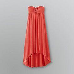 Glo Women's Strapless High/Low Maxi Dress $20
