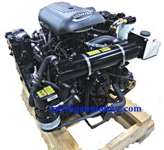 4.3L Complete Engine Package FUEL INJECTION (INBOARD or V-DRIVE Replacement)